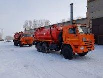 Вакуумные автоцистерны АКН-10ОД КАМАЗ-43118