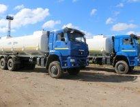 Автоцистерна нефтепромысловая АЦН-20 КАМАЗ-6522