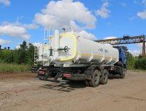 Автоцистерна нефтепромысловая АЦН-20 КАМАЗ-6522 для перевозки техводы