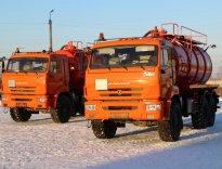 Отгрузка АКН-10 на шасси КАМАЗ-43118
