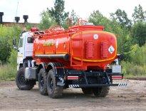 Отгрузка метаноловоза АЦМ-12 КАМАЗ-43118