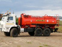 Автоцистерна нефтепромысловая АЦМ-12 КАМАЗ-43118-МЕТАНОЛ