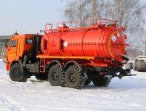 Отгрузка АКН-10ОД на шасси КАМАЗ-43118