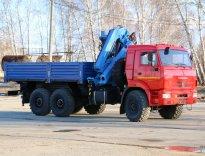Фото бортовой КАМАЗ-43118 с КМУ ИМ 240