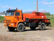 АТЗ-6 КАМАЗ-43502 с маслостанцией