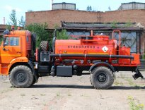 АТЗ-6 КАМАЗ-43502 с маслостанцией вид сбоку