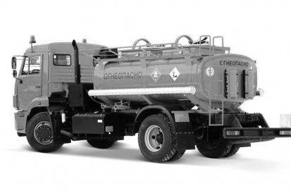 АЦ-7,5 КАМАЗ-43253
