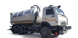 Cesspool trucks MV-17,5 KAMAZ-6522 фото