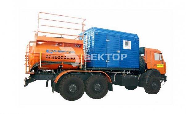 Агрегат для многокомпонентной химической обработки скважин и трубопроводов СИН-32.46 КАМАЗ-43118 фото