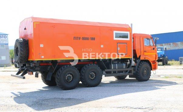 ППУА 1600/100М КАМАЗ-43118