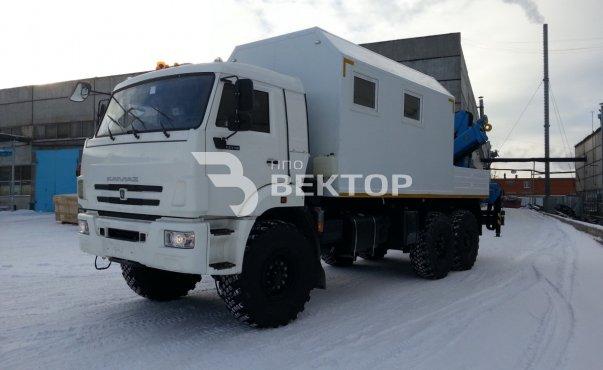 АОП-2М КАМАЗ-43118 с КМУ ИМ-150