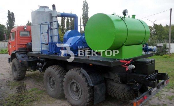 Агрегат депарафинизации скважин АДПМ-12-150 КАМАЗ-43118 (Первомайскхиммаш) фото