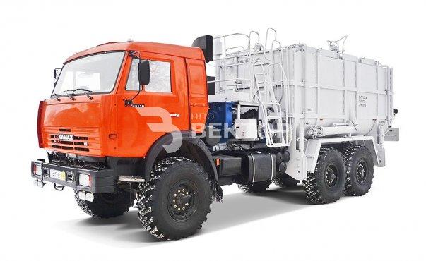 Агрегат смесительно-осреднительный АСО-25 КАМАЗ-43118 (Первомайскхиммаш) фото