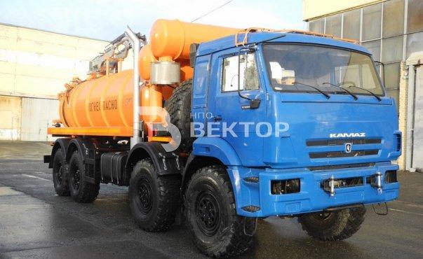 Илососные машины АКНС-12 КАМАЗ 63501 исполнение ATEX фото