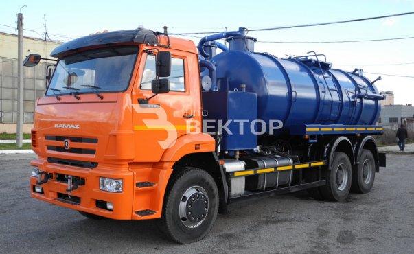 Илососные машины АКНС-15 КАМАЗ 6520 фото