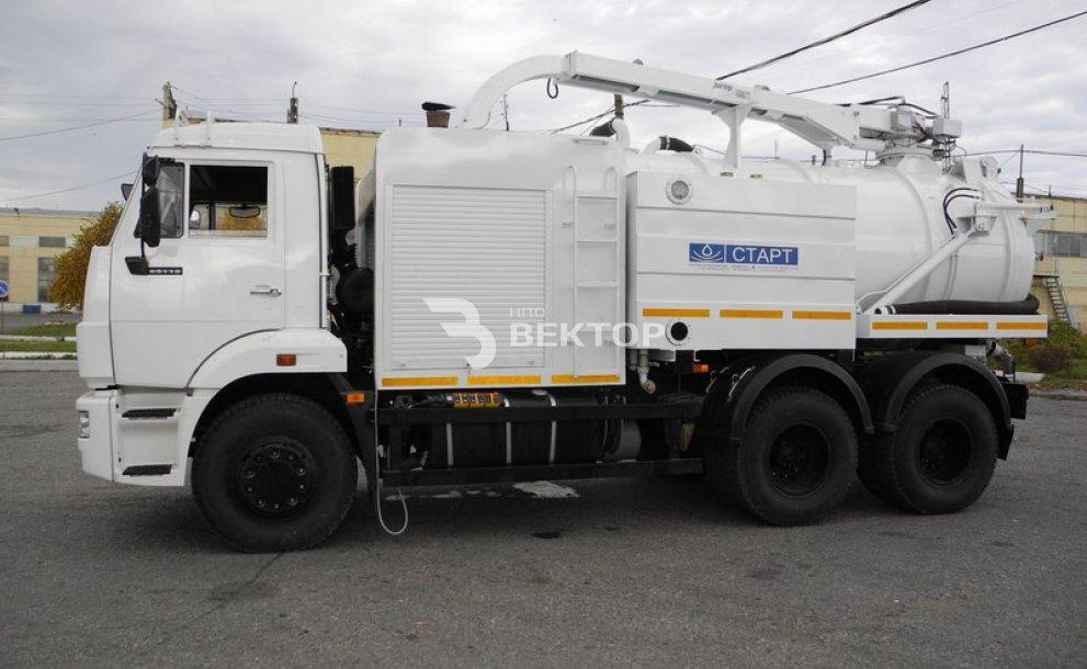 Илососные машины АКНС-8 КАМАЗ-65115 фото