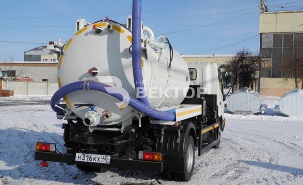 Илососные машины АКНС-4-HINO фото
