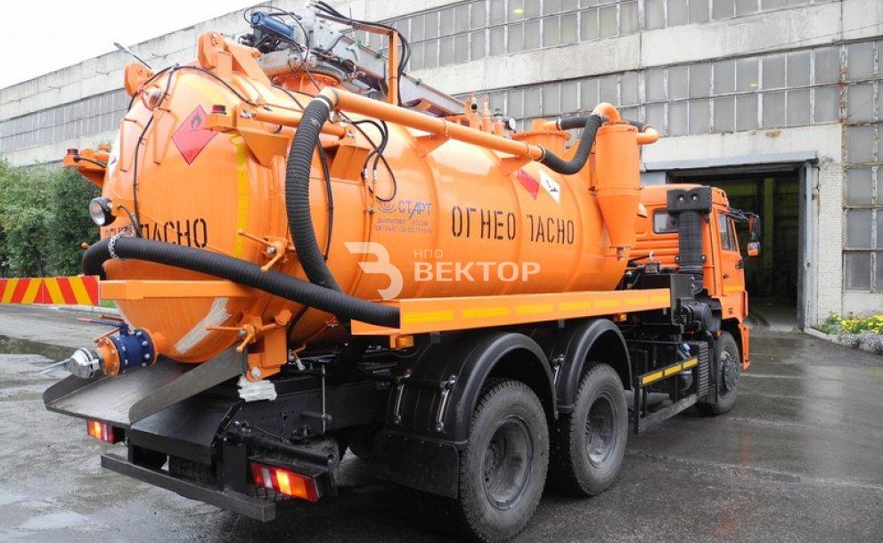 Илососные машины АКНС-10 КАМАЗ-65115 исполнение ATEX фото