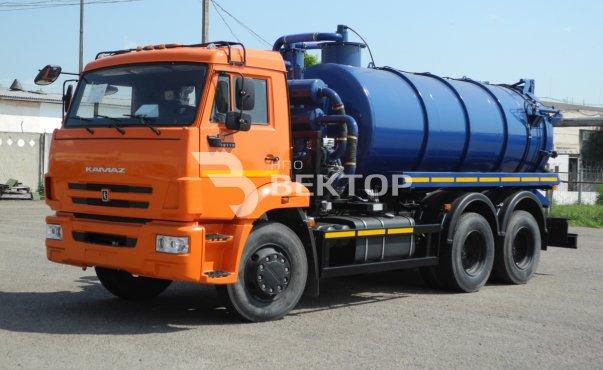 Илососные машины АКНС-10 КАМАЗ-65115 фото