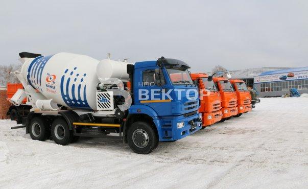 Бетоносмеситель КАМАЗ-58149Z