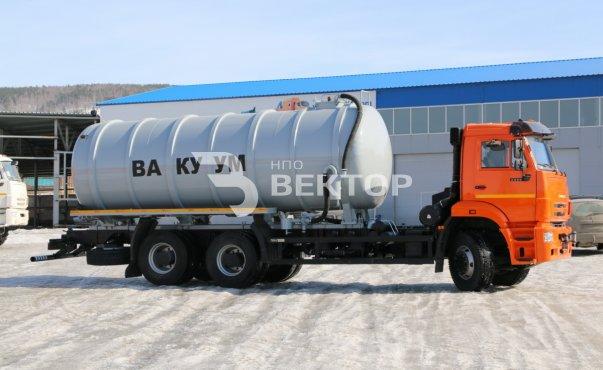 АКН-18 КАМАЗ-6520Е4 (сдвоенный насос)