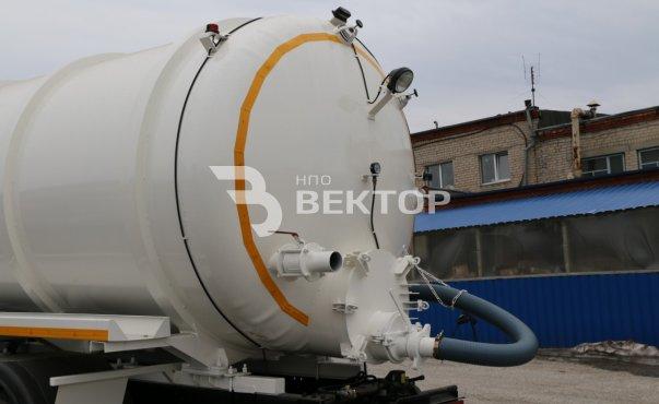 АКН-16 КАМАЗ-65115 (двухнасосная)