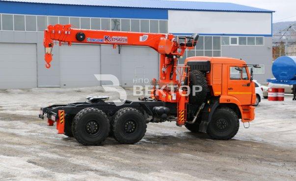 КАМАЗ-43118 с КМУ Kanglim 1256GII