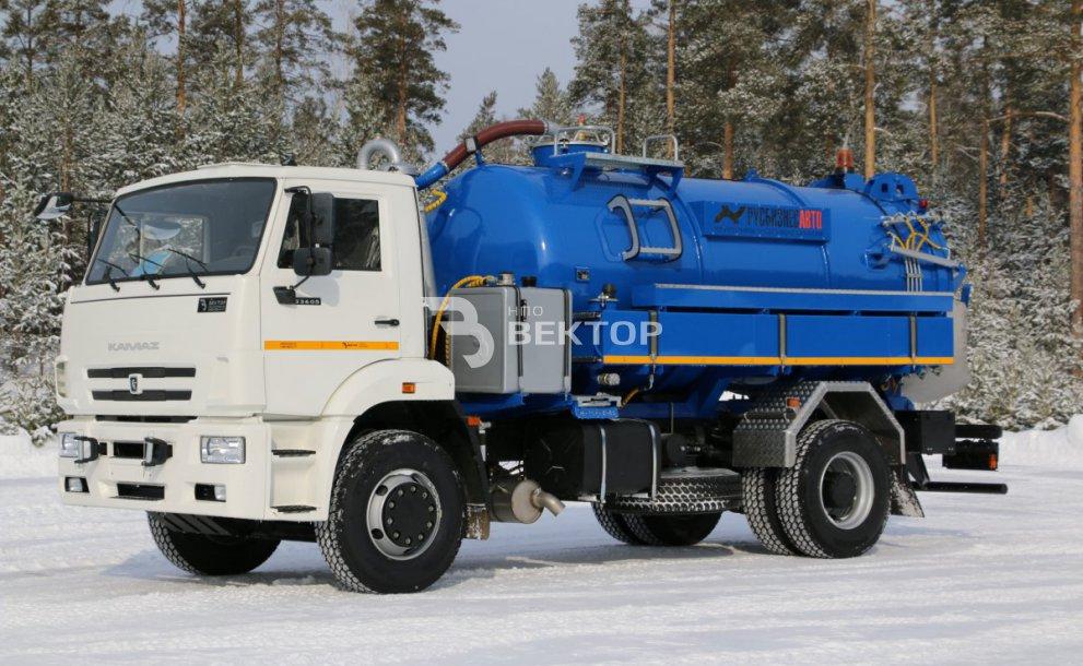 АТЗ-12,5 КАМАЗ-43118 (ЛИКАРД-АЗС)