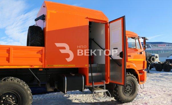 ГПА на шасси КАМАЗ-43502