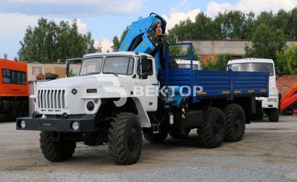 Урал 4320 с КМУ ИМ-240
