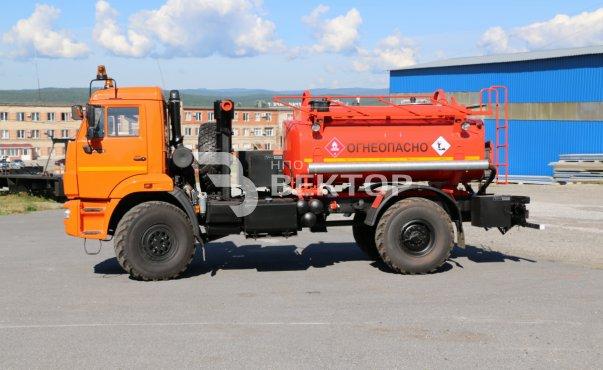 АТЗ-6 КАМАЗ-43502 (двухнасосный)
