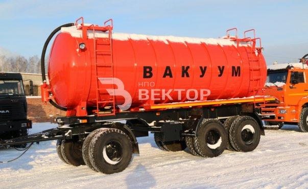 Вакуумный автопоезд МВ КАМАЗ-6520 (40 куб.м)