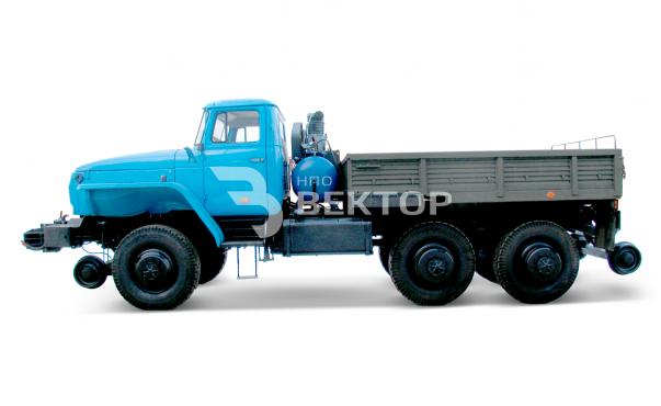Локомобиль ЛОКО-3 Урал-4320
