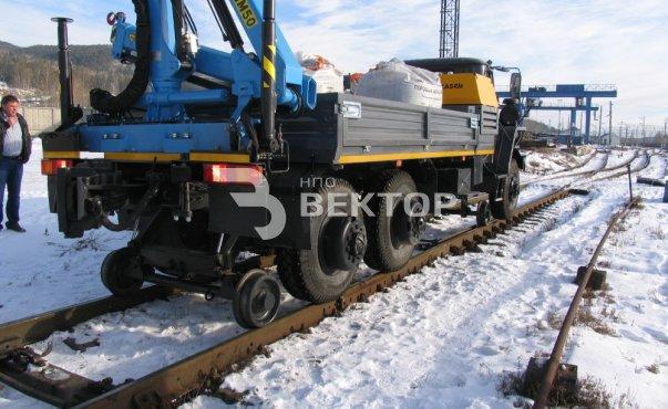 Локомобиль ЛОКО-2 Урал-4320