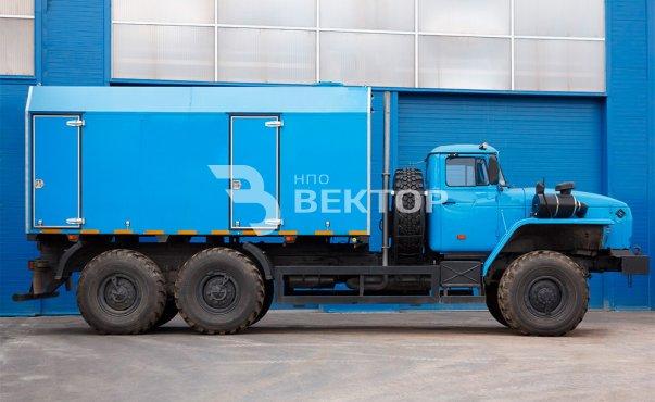 Передвижная парогенераторная установка ППУА-1600/100 Урал-4320 фото