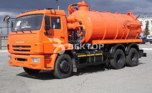 Илососные машины АКНС-12 КАМАЗ-65115 фото