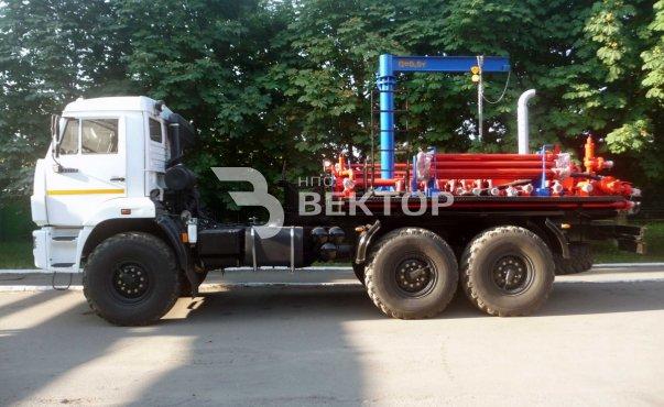 СКЦС-01 в составе БМ-70/32 КАМАЗ-43118