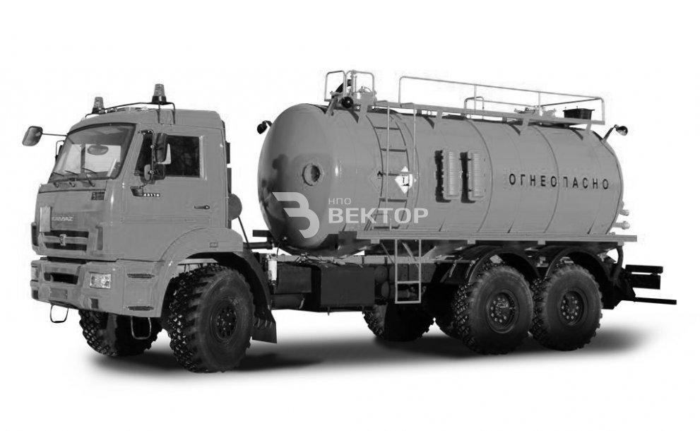 АКН-15 КАМАЗ-43118 (Двухконтурный подогрев)