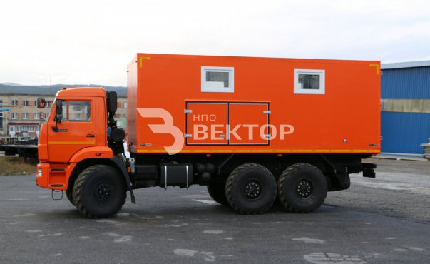 Маслостанция КАМАЗ-43118 (без наполнения)