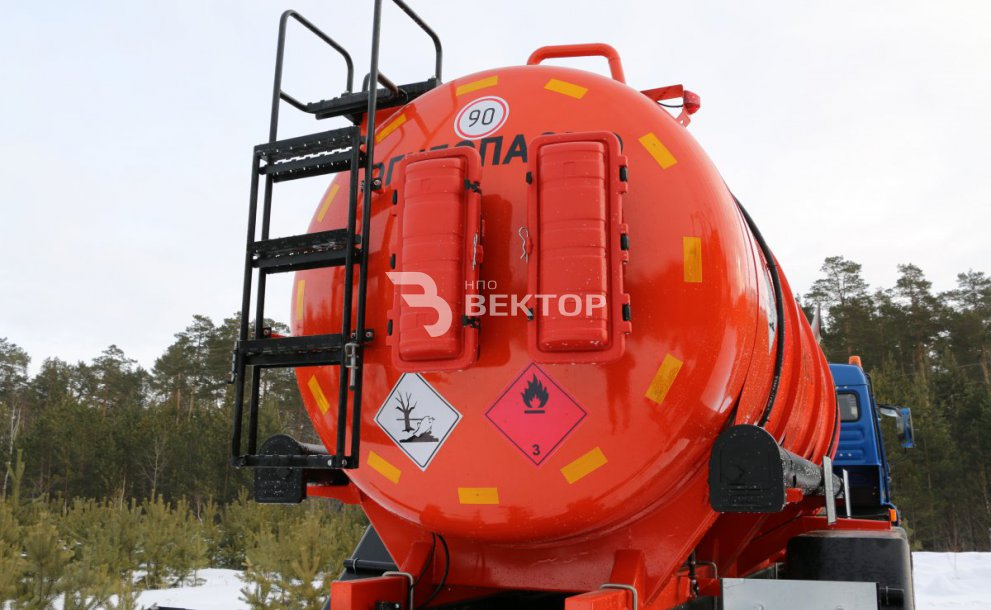 АЦМ-11М КАМАЗ-43118 Cummins