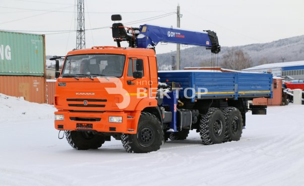 КАМАЗ-43118 с КМУ DongYang SS1956
