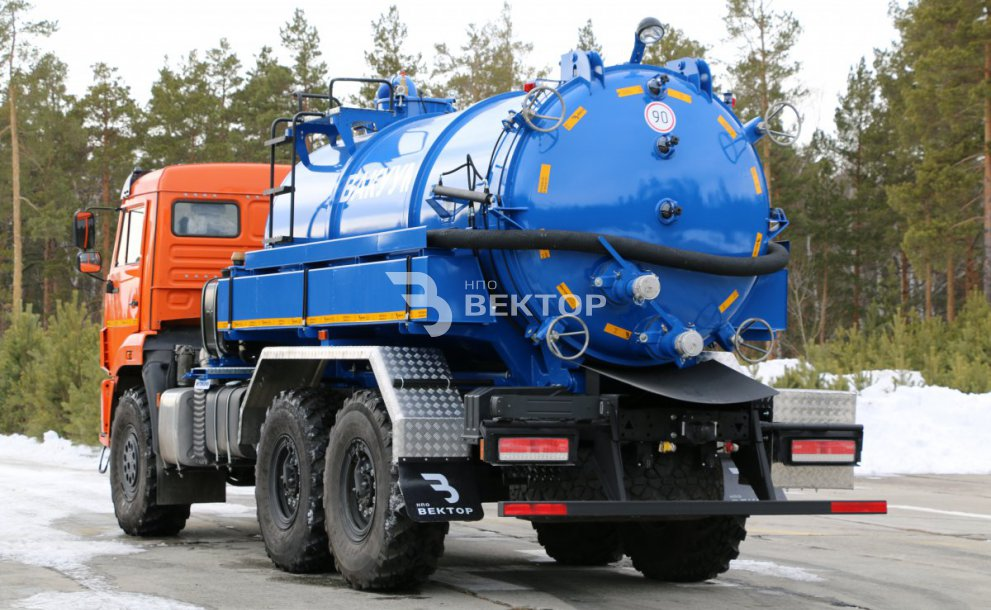 МВС-10 КАМАЗ-43118 Гидроразмыв