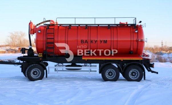 Вакуумный автопоезд КАМАЗ-6520 (40 куб.м)