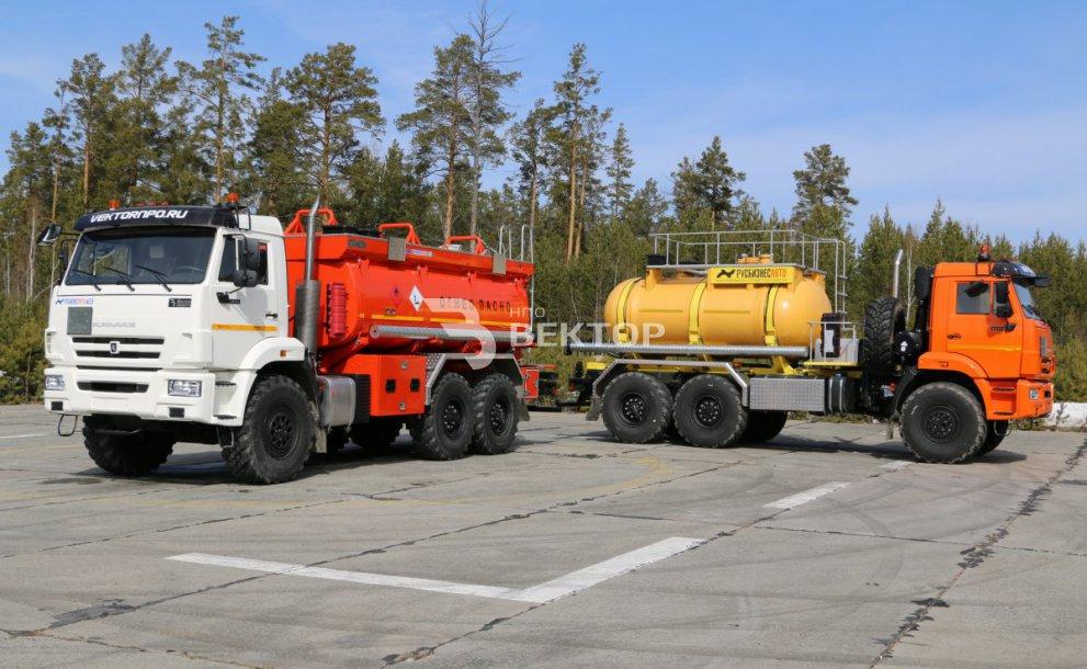 АЦК-10 КАМАЗ-43118 РБА