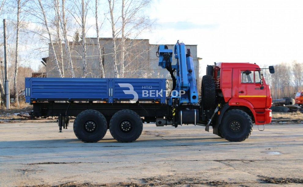 КАМАЗ-43118 с КМУ ИМ-240
