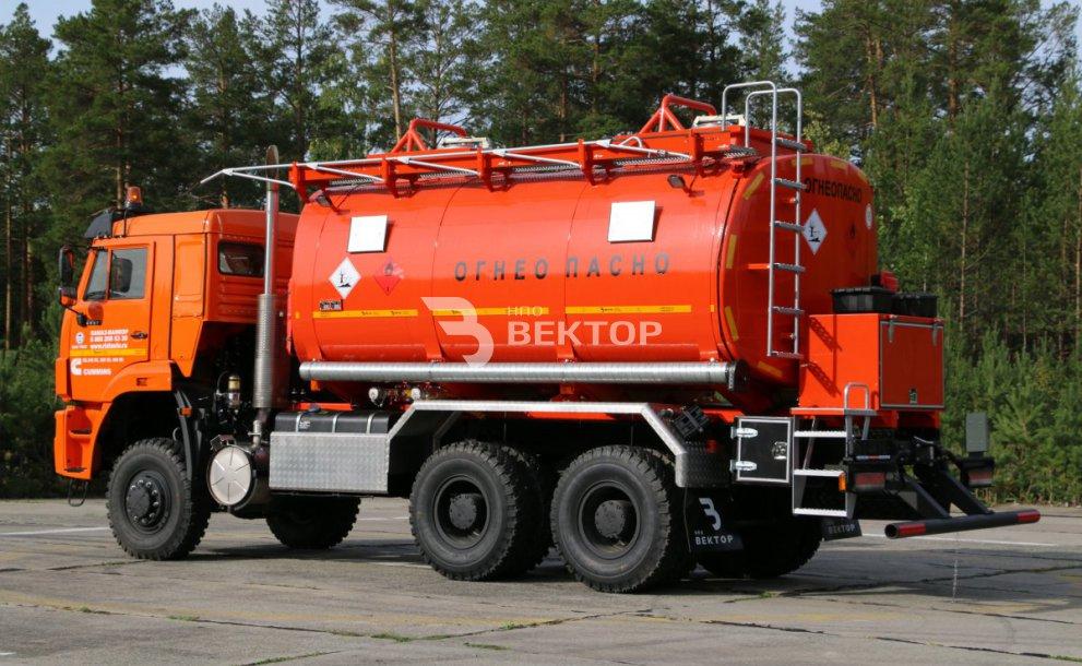 АТЗ-20 КАМАЗ-6522 Cummins