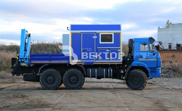 АНРВ КАМАЗ-43118М с КМУ ИМ-95 модель 2018 г.