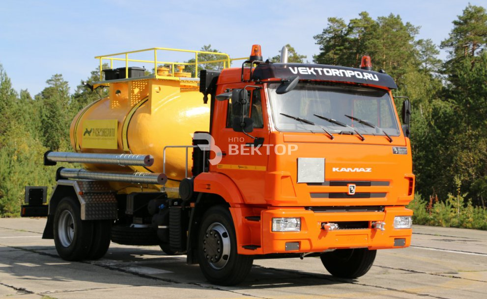 АЦК-6 КАМАЗ-43118 РБА