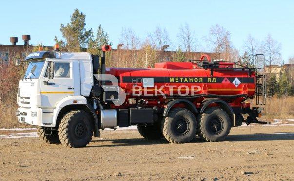 АЦМ-11 КАМАЗ-43118-МЕТАНОЛ