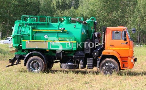 АКНС-8+1 КАМАЗ-53605 DL-300